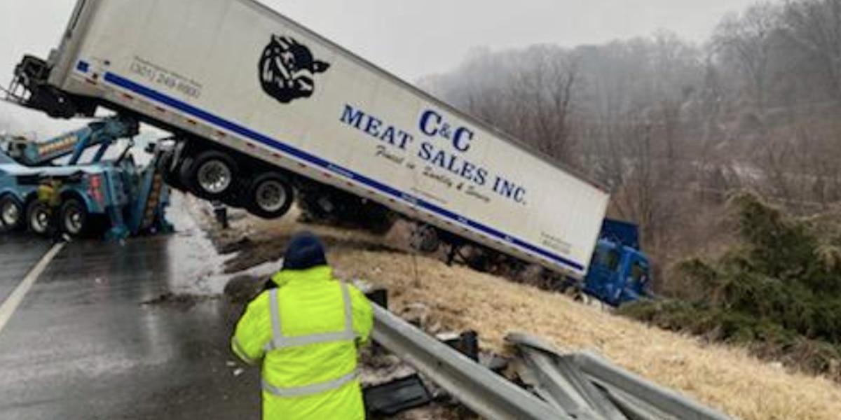 VSP responds to 360+ crashes; slick pavement to remain threat into Sunday