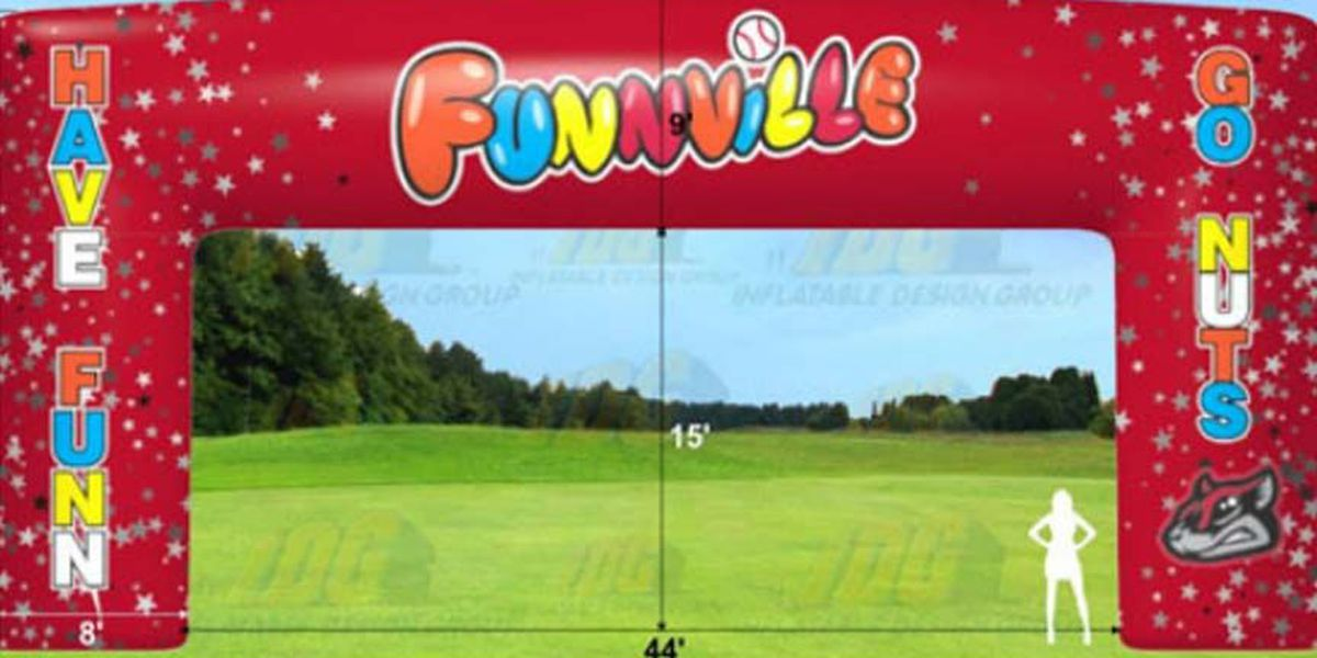 Flying Squirrels introduce 'Funnville' branding and features