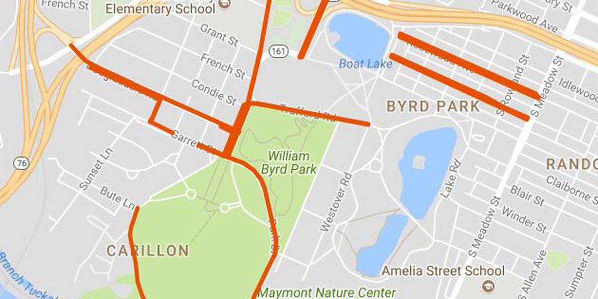 July 4 road closures to affect Byrd Park, Rocketts Landing