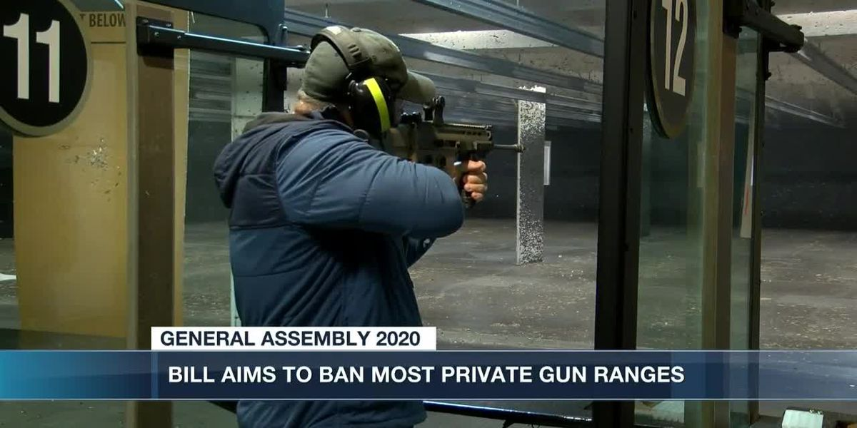 House bill aims to ban some privately-owned gun ranges