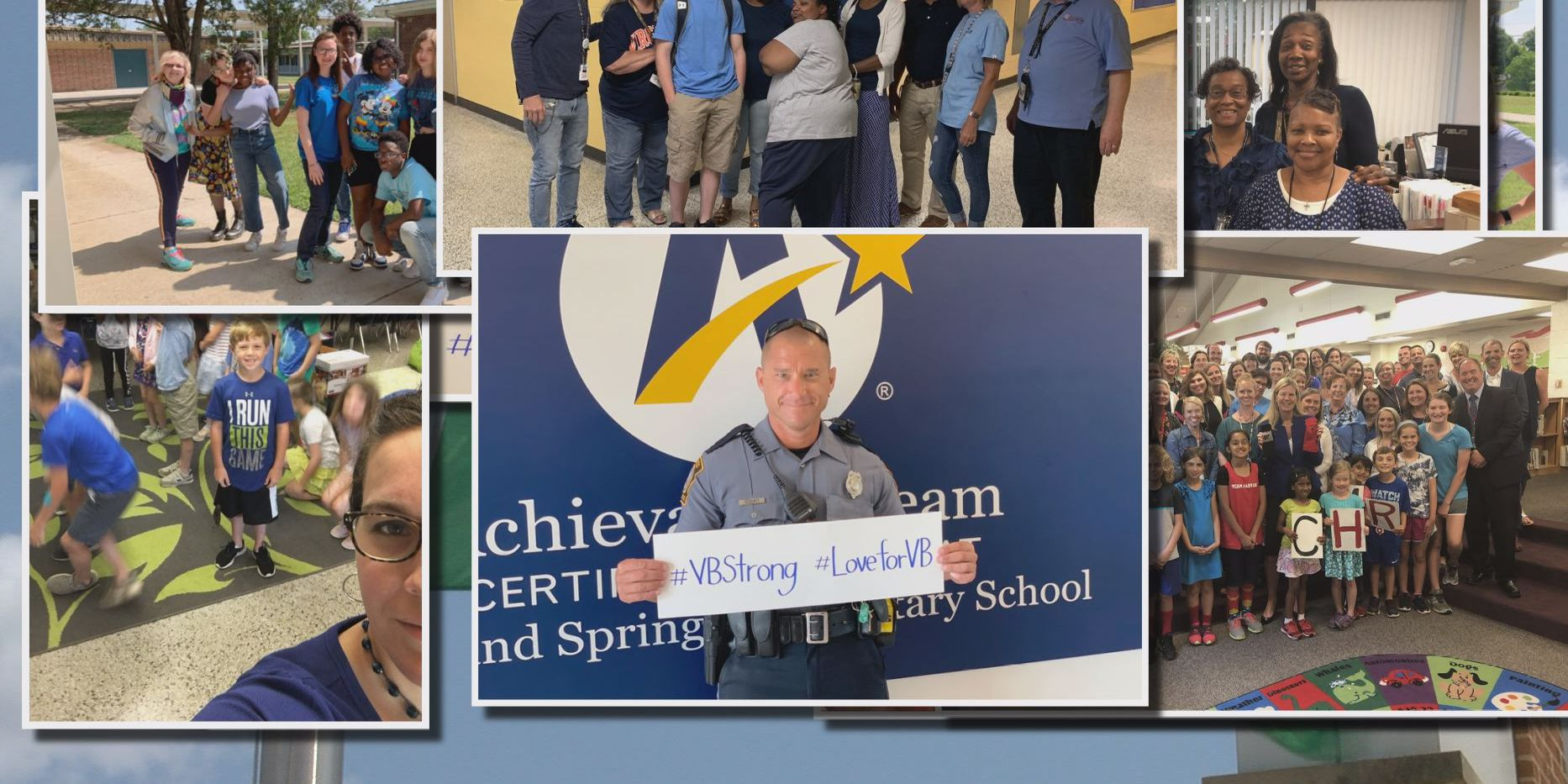 'We need to be united': Schools wear blue in honor of Va. Beach shooting victims