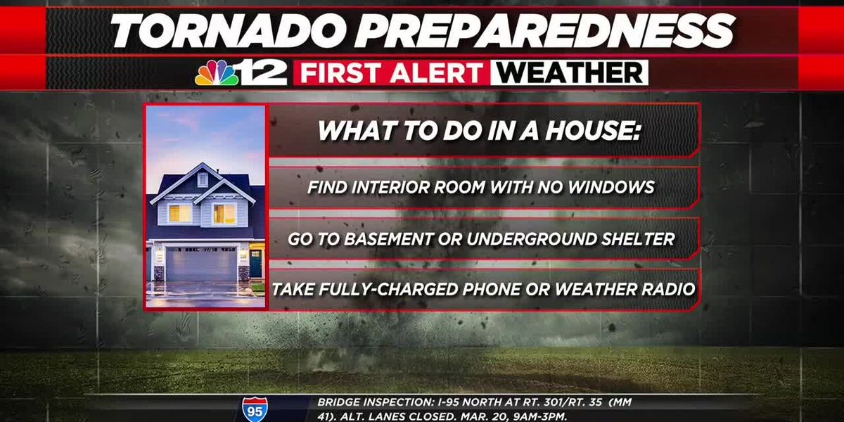 Virginia to hold statewide tornado drill