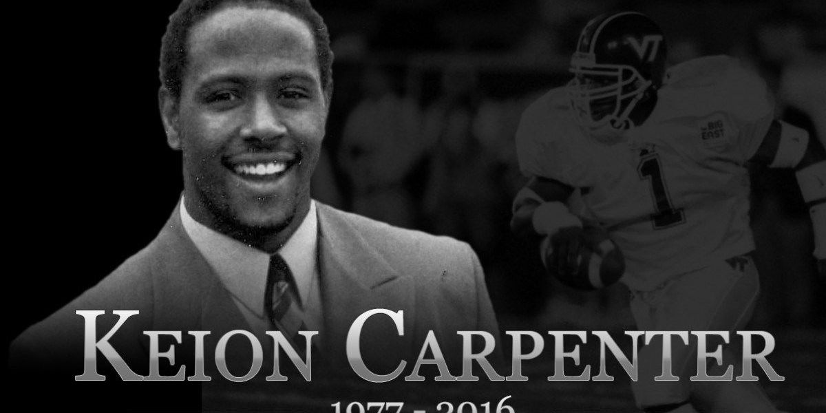 Former VT, NFL player Keion Carpenter dead at 39