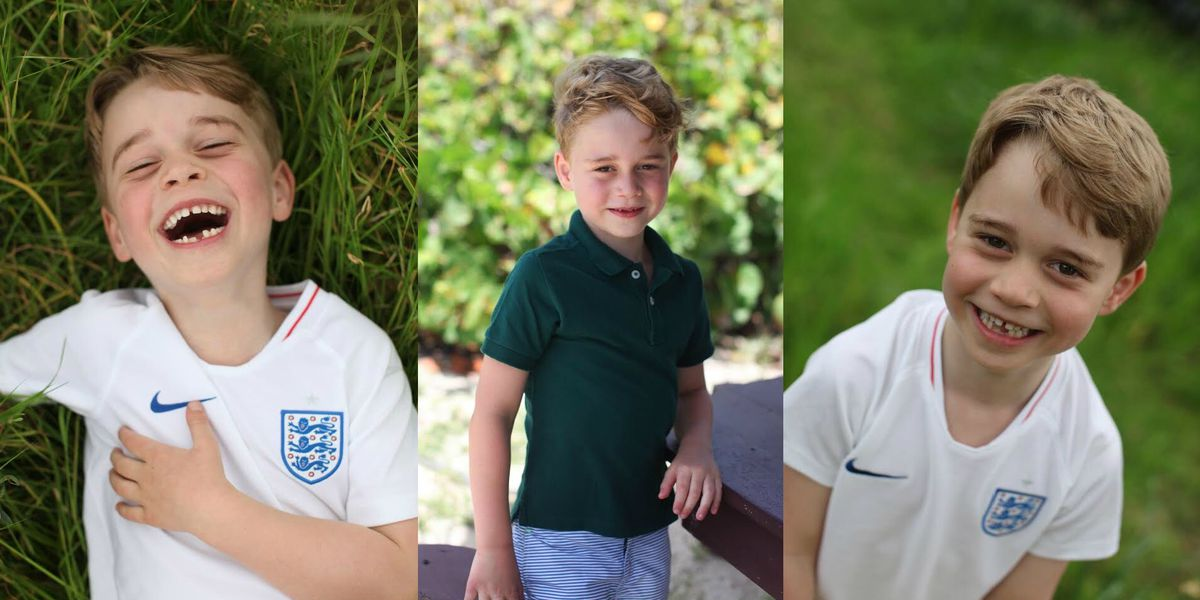 Prince George turning 6 as UK palace releases new photos