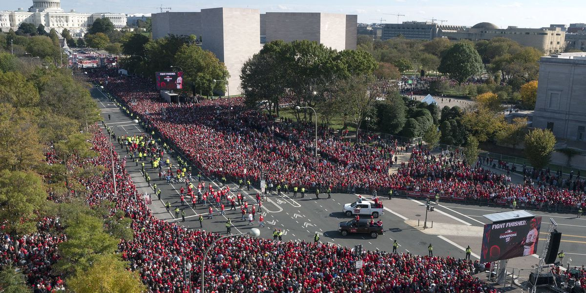 World Series champs Washington Nationals get their parade