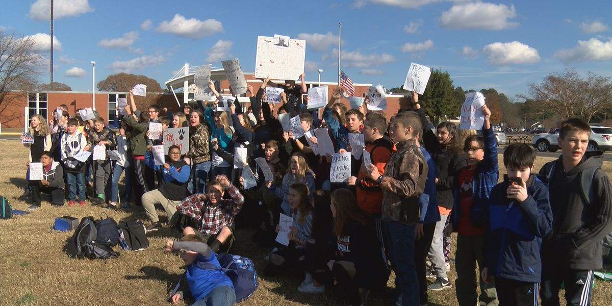 Students hold walkout after teacher at center of transgender student controversy fired