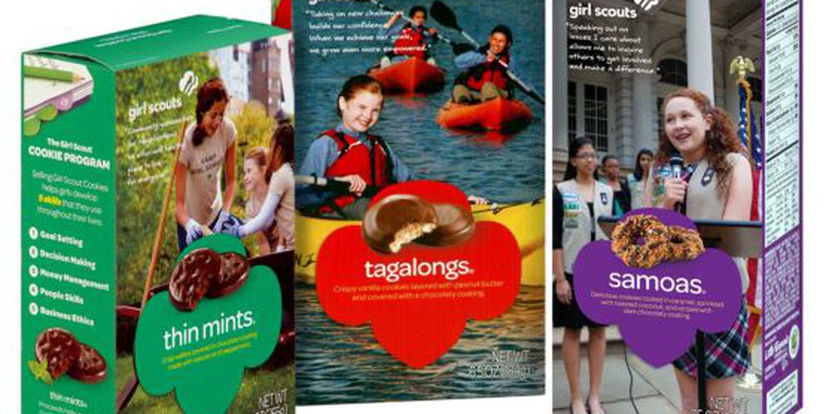Girl Scouts selling cookies online again this year