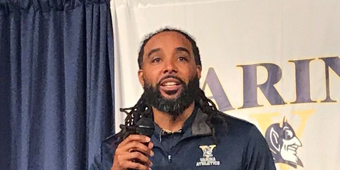 Varina born and raised, Blue Devils promote Lewis to head football coach