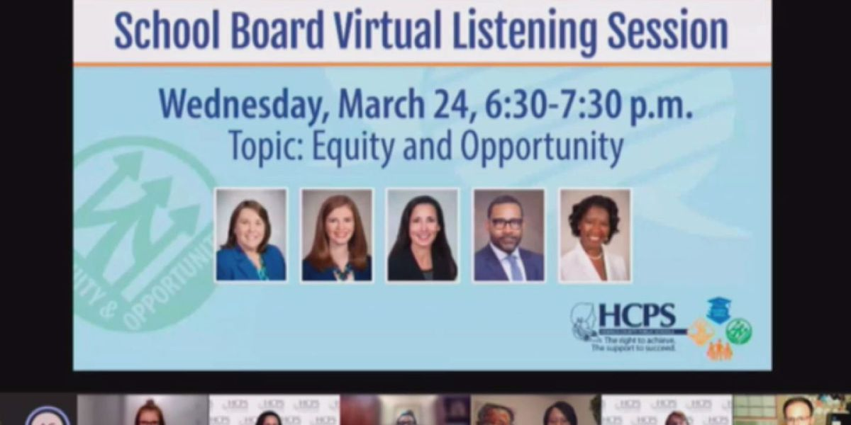 Henrico school board holds virtual meeting to address equity concerns