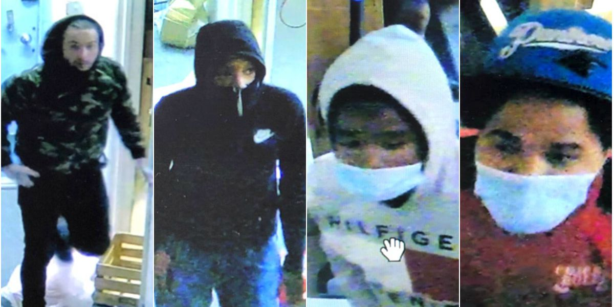 Police search for 4 suspects in Richmond burglary