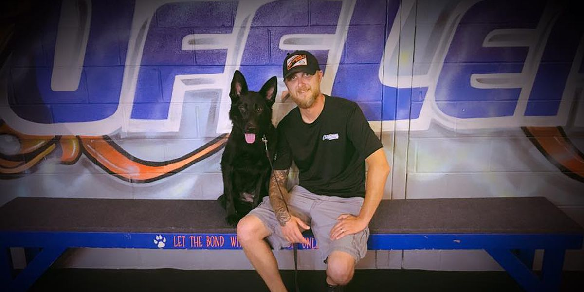 Special Agent Walter's K-9 to finish training