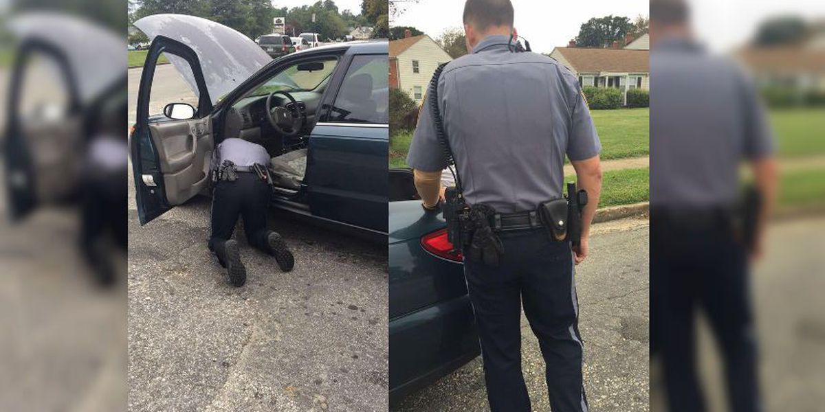 Henrico police officer goes beyond the call of duty