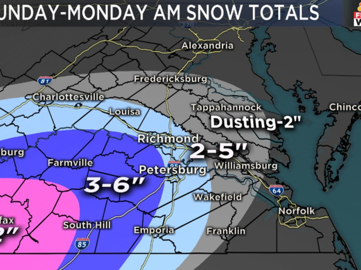 Governor declares state of emergency ahead of expected snow storm