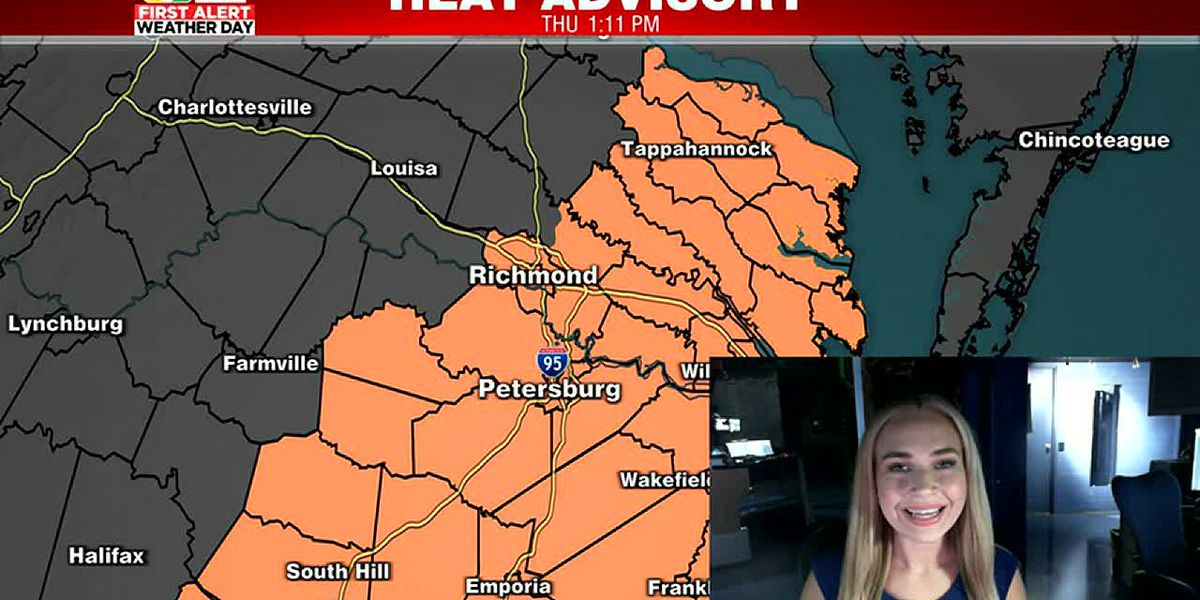 Tracking extreme heat plus an update on tonight's severe storm risk