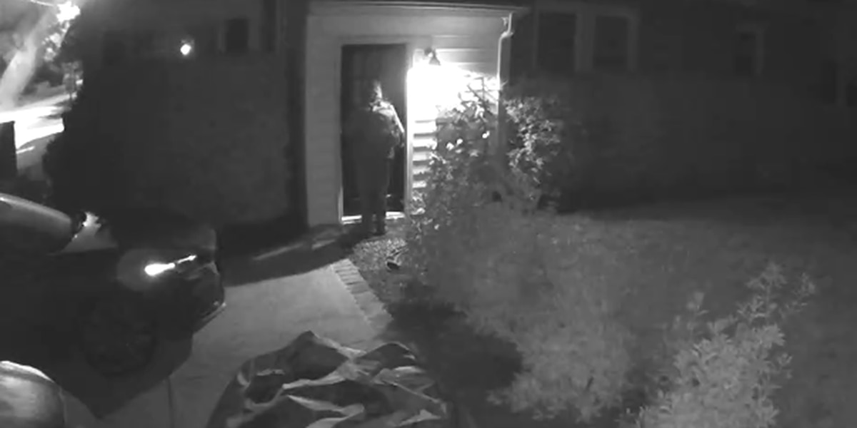 Video shows attempted break-in at Richmond home