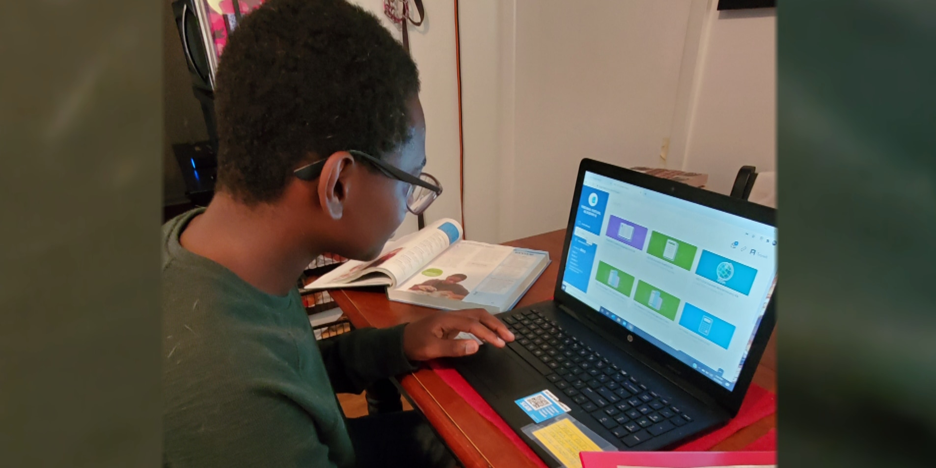 'He was straight A's, he was thriving': Richmond teen shares success story of virtual learning