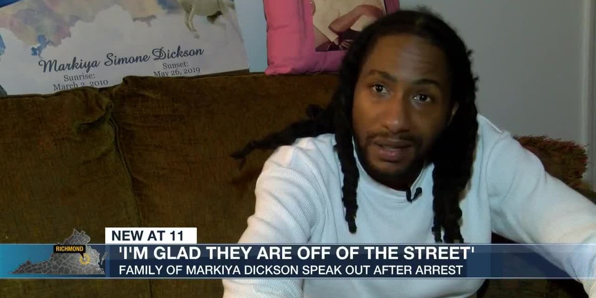 'I'm glad they are off of the street': Family of Marikya Dickson now focused on gun violence in city