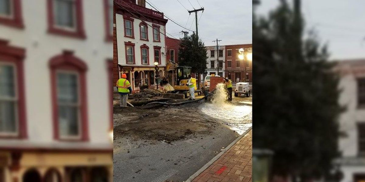 Petersburg officials issue boil water advisory following water main break