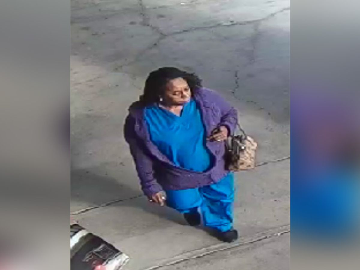Deputies search for woman who allegedly stole wallet from purse in restroom