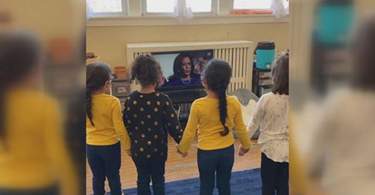 www.nbc12.com: Kindergartners stand in solidarity, inspired by swearing-in of Vice President Kamala Harris