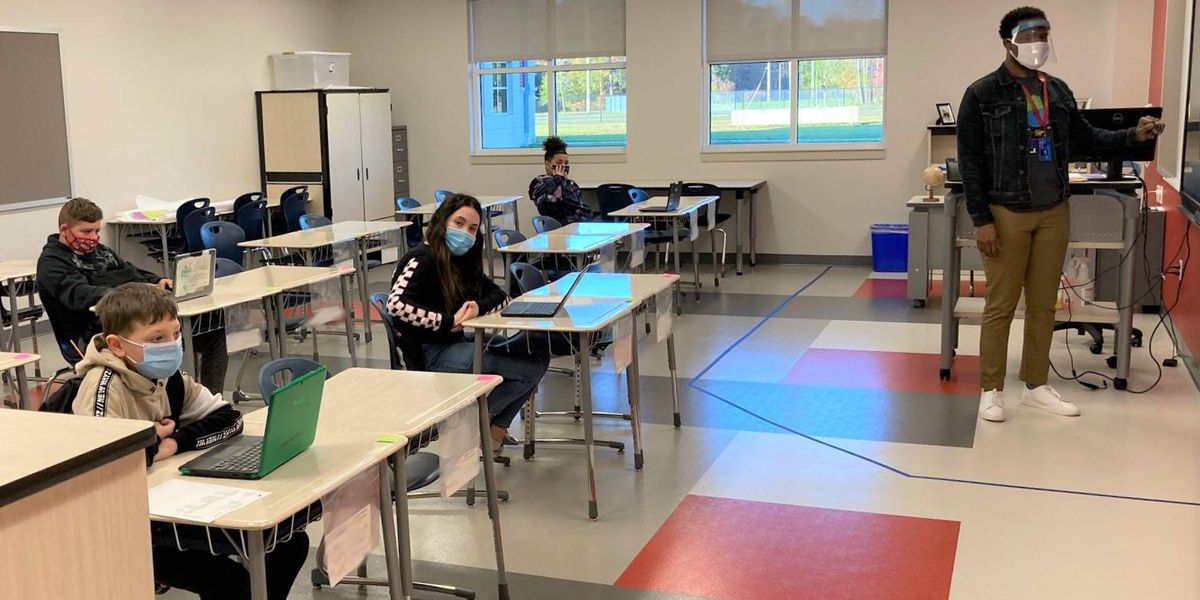Chesterfield middle, high school students return to in-person learning