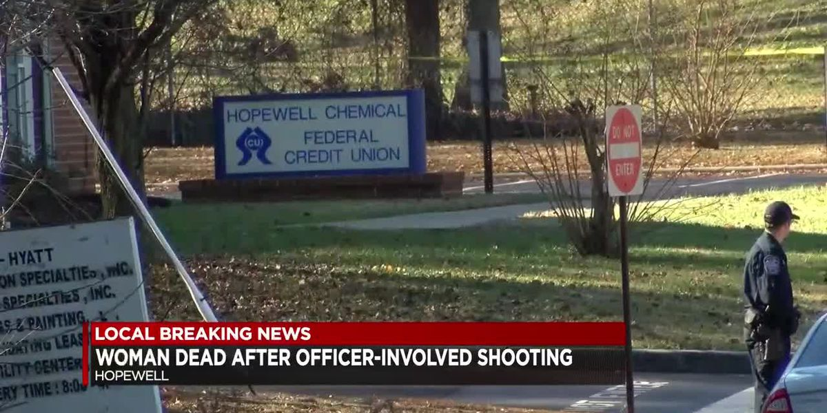 Hopewell police shoot, kill armed robbery suspect after she pulls gun