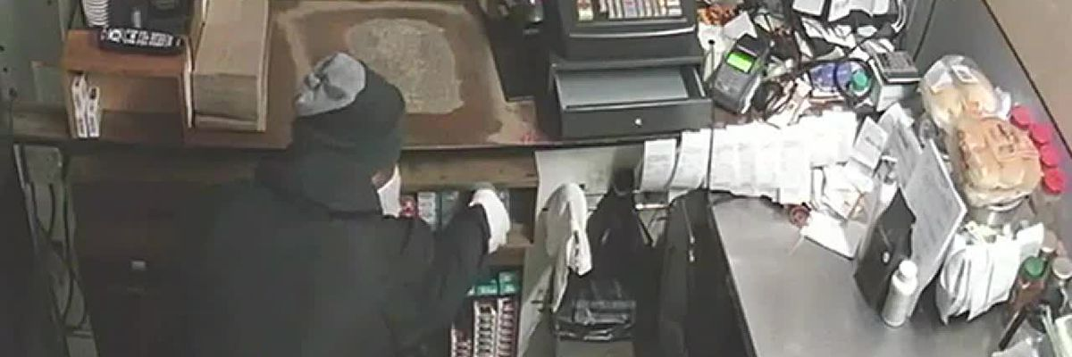 Video: Man steals $1,000 worth of cigarettes