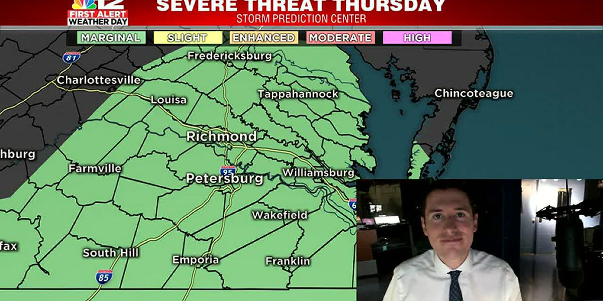 First Alert Weather Day: Strong storm threat Thursday