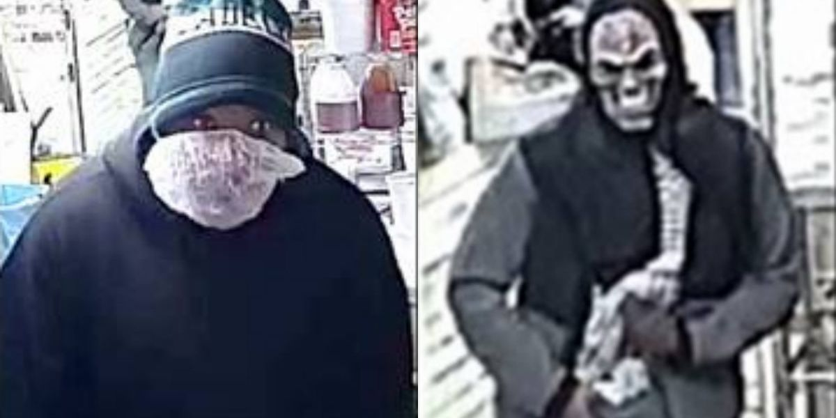 Police search for 2 masked men who burglarized business on West Cary Street