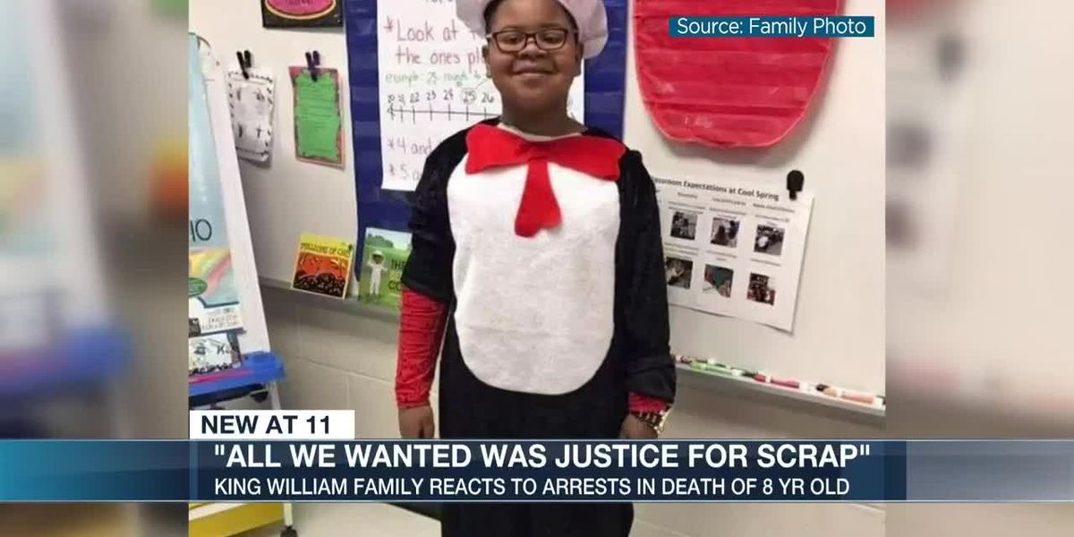Family reacts to arrests made in the shooting that killed an 8 year old boy