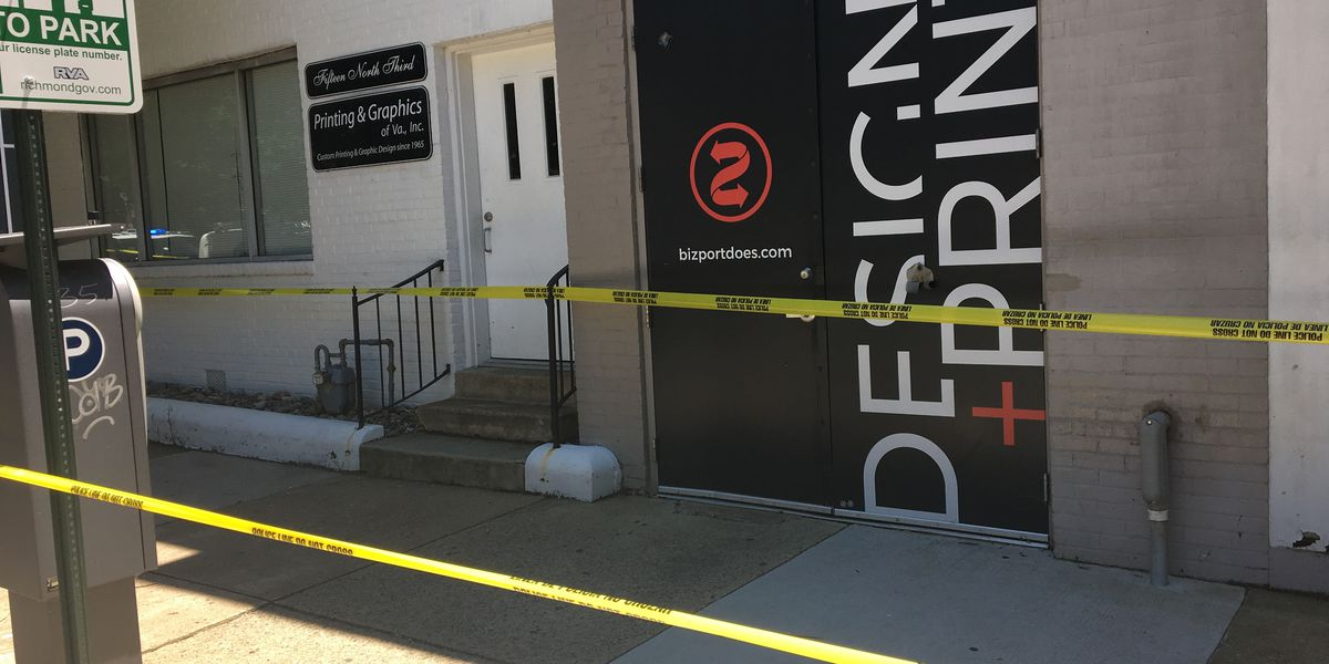 Richmond police investigating shooting near printing services business
