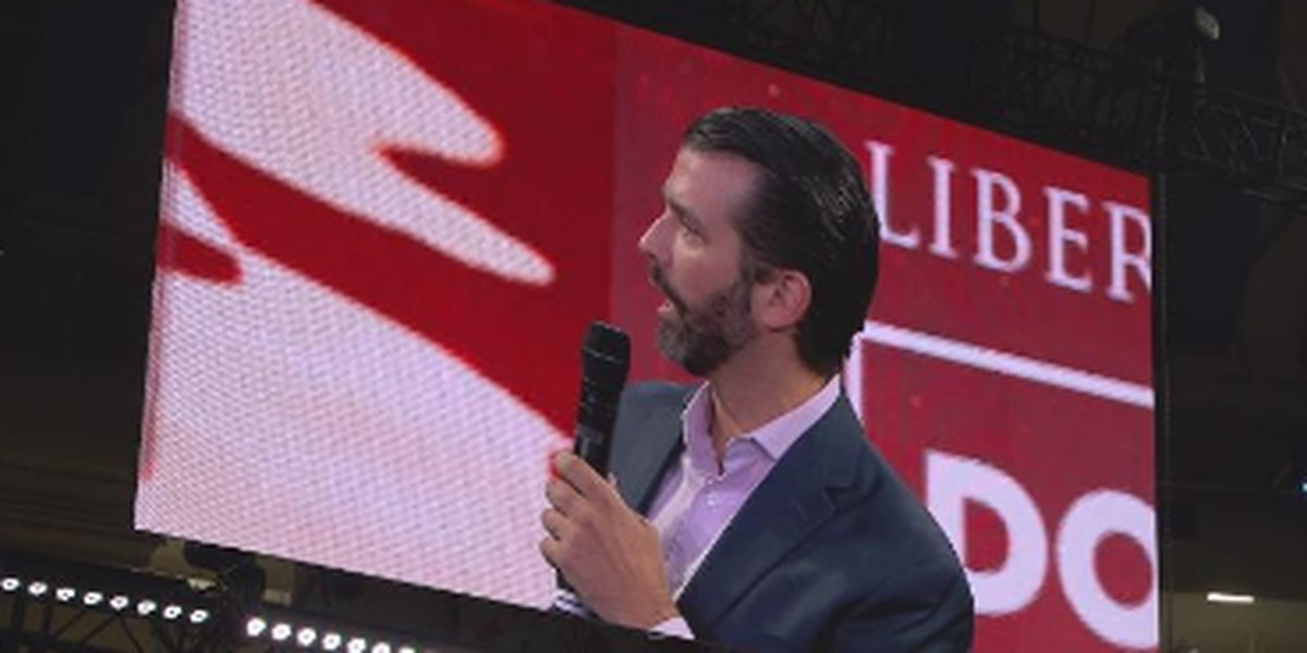 Donald Trump Jr. visits LU amid impeachment hearing