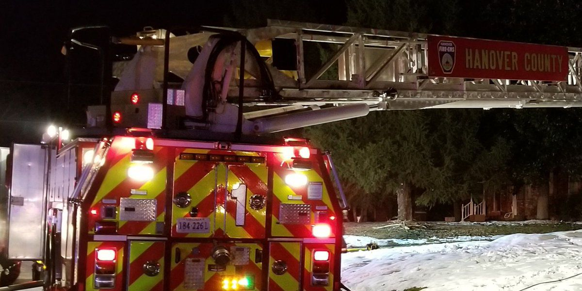 Hanover Fire Department responds to house fire