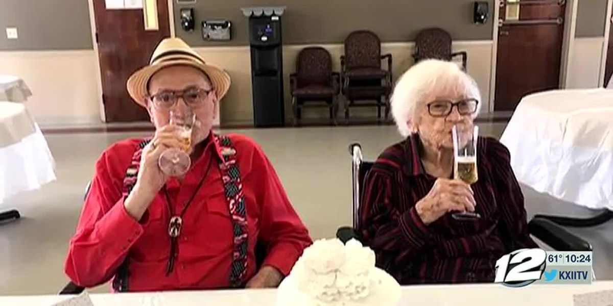 Texas' longest married couple celebrates 82nd anniversary