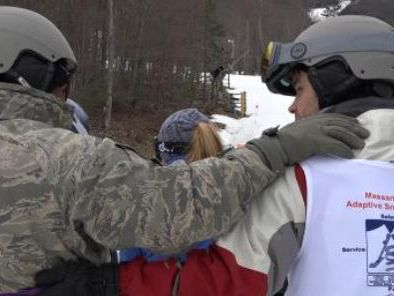 Disabled vets hit the ski slopes in Virginia with help of nonprofit