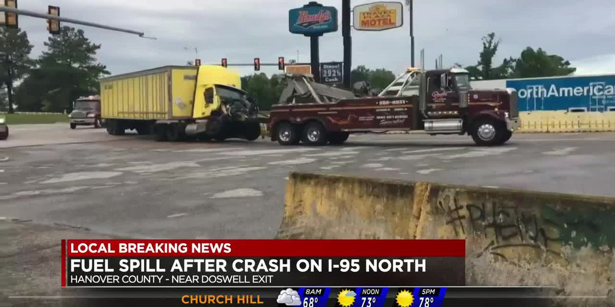 2 tractor-trailer crashes cause early morning delays on I-95