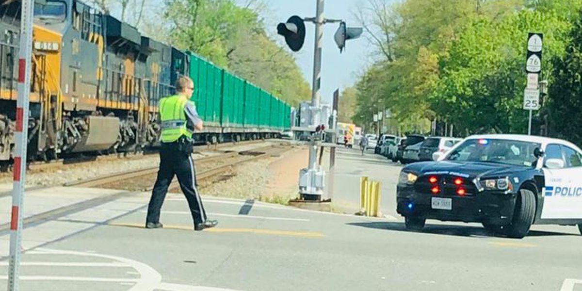 Driver escapes SUV before train crashes into it