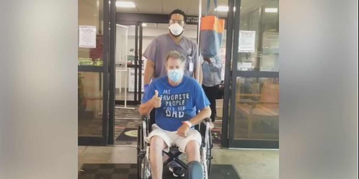 Mississippi man recovering at home after 21 days on a ventilator due to COVID-19