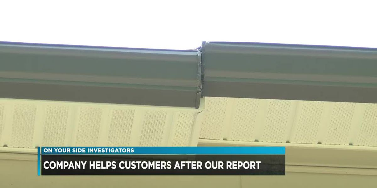 Company helps customers after our report