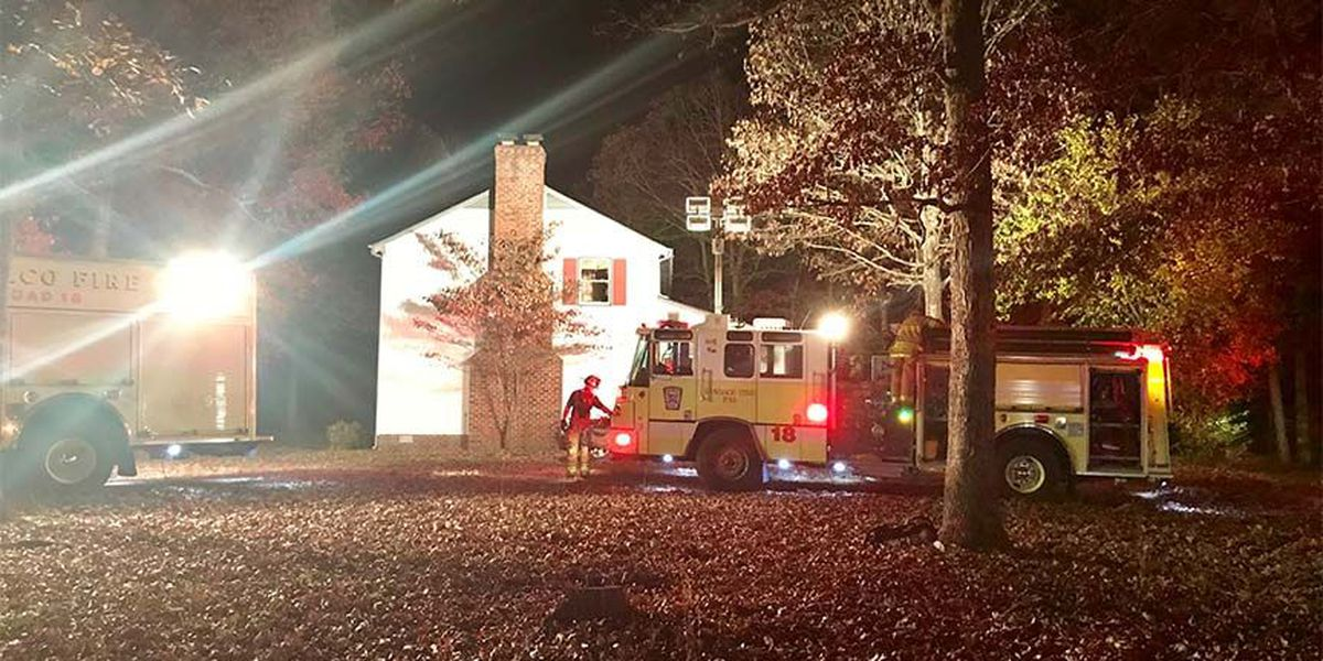 Henrico Fire crews respond to 'heavy smoke and flames' at home