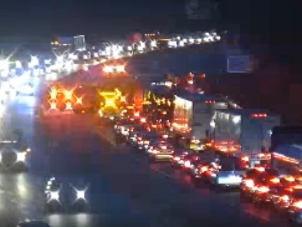 Numerous vehicles involved in I-95 crash near Route 288