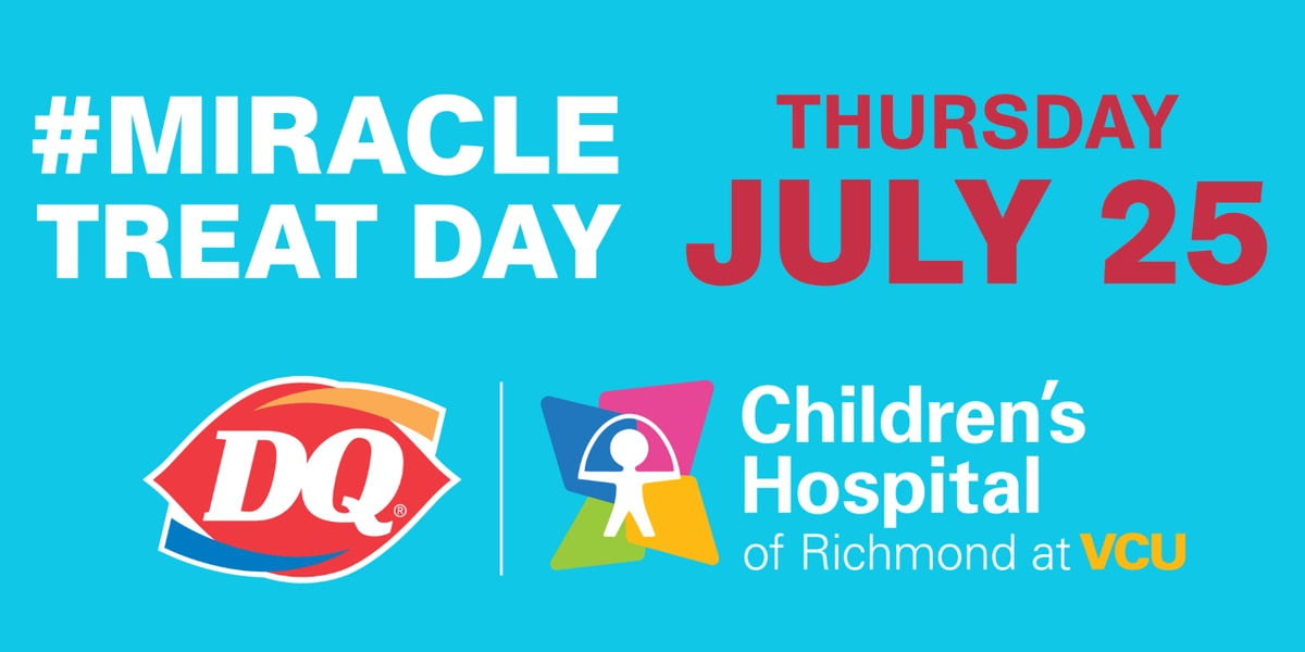 Dairy Queen's Miracle Treat Day to benefit Children's Hospital of Richmond at VCU