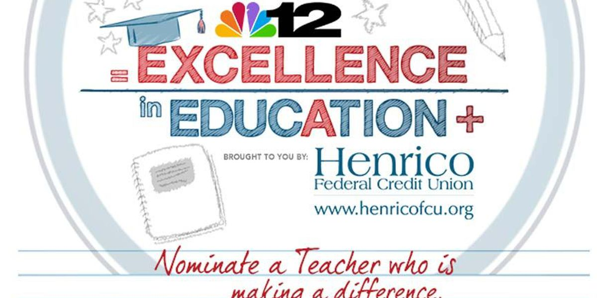 Nominate a teacher for the Excellence in Education award