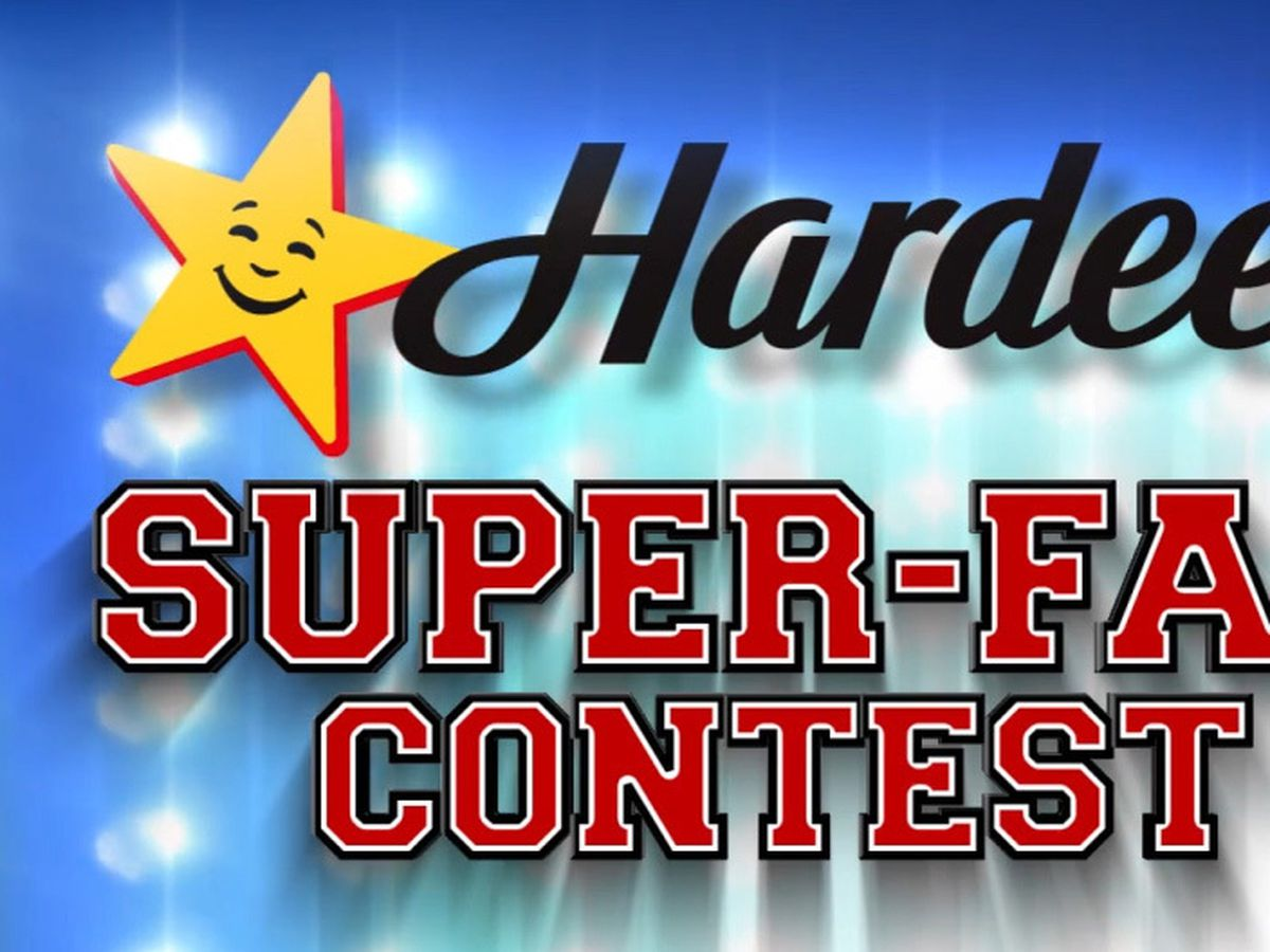 Hardee's Super-Fan Contest: Enter for a chance to win gift cards & a TV!