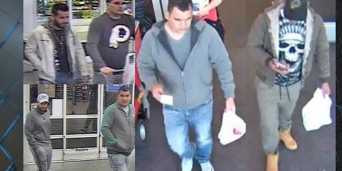 Caught on Camera: Suspects used stolen credit card info during spending spree
