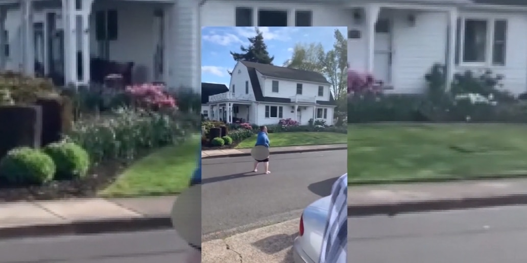 Woman shows her behind, unleashes racist tirade on African-American family on Easter Sunday