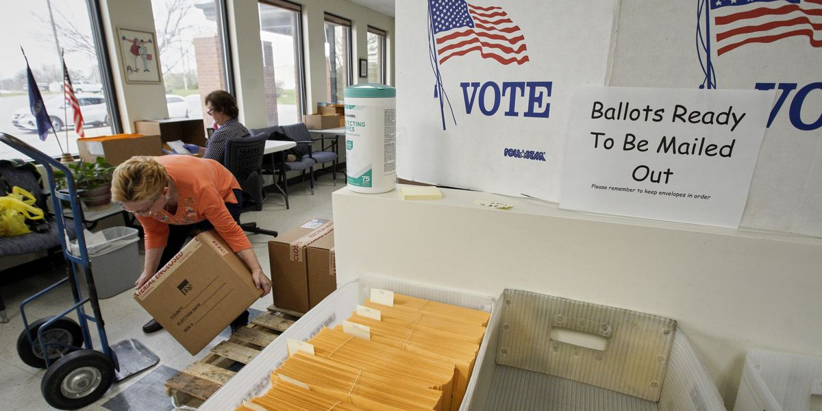 Nebraska primary voters avoid polls, shatter mail-in record