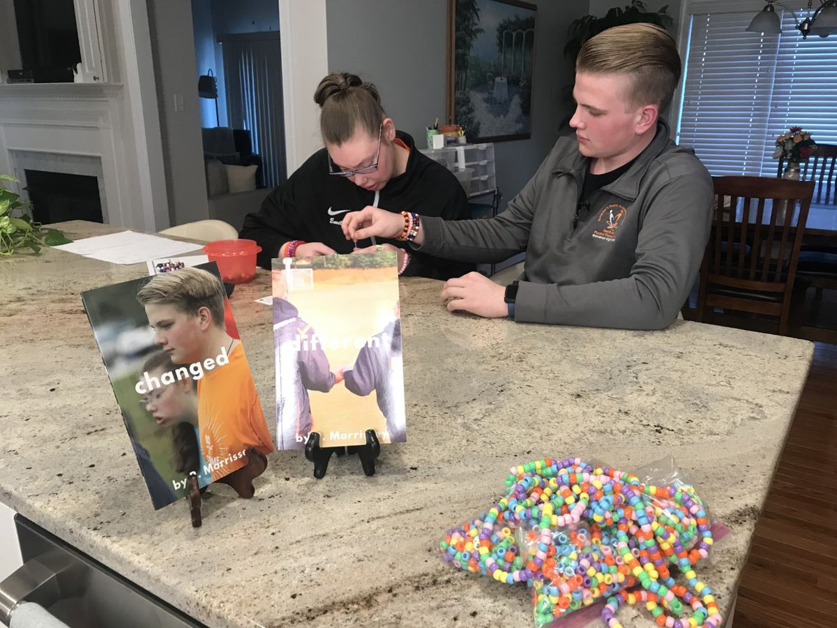 Family celebrates 'different abilities' through custom bracelets, books