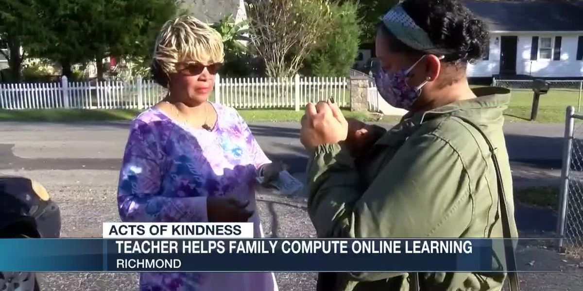 Richmond teacher helps older parents, students with computer issues