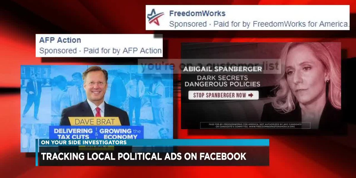 Tracking local political ads on Facebook